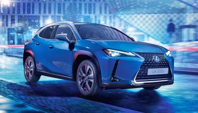 lexus ev launched ux 300e