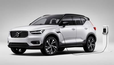 volvo offers phev customers free charging year