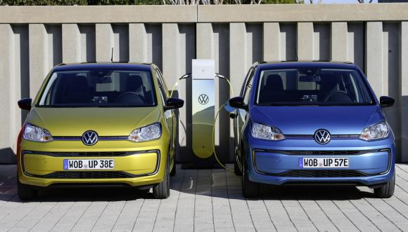 range doubled for new vw e-up!