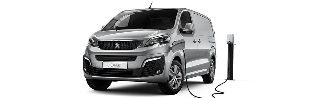 peugeot e-expert van how to charge