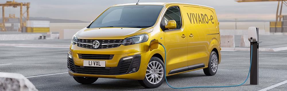 vauxhall vivaro-e van how to charge