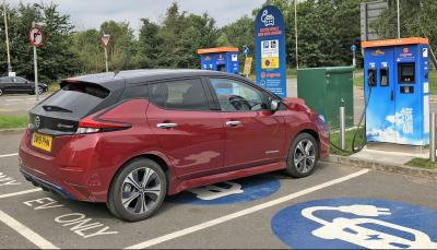 ev charging rise lockdown eased england