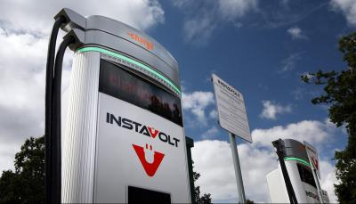 work starts banbury instavolt ultra rapid ev charging hub