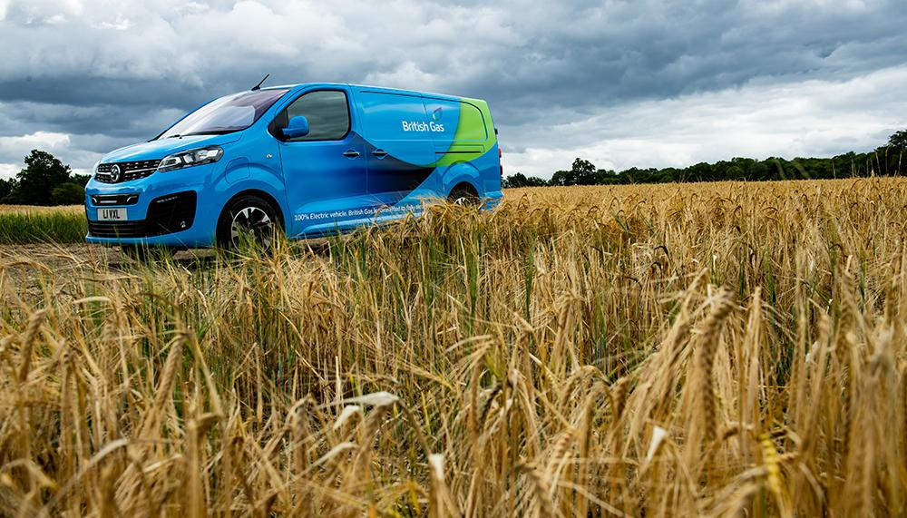 british gas largest uk commercial ev order vauxhall