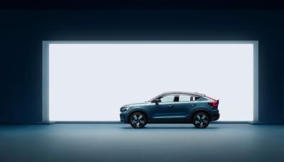 volvo presents pure electric c40 recharge