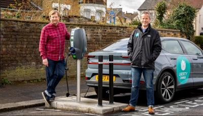 liberty charge national ev infrastructure rollout waltham forest